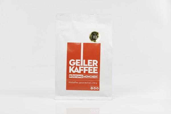 GEILER KAFFEE Röstung München 250g Bohnen - DLG Auszeichnung