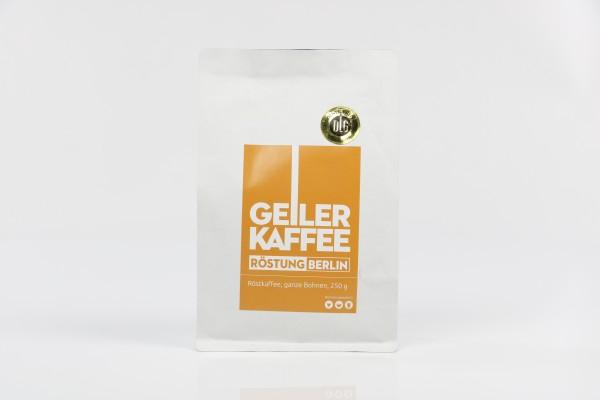 GEILER KAFFEE Röstung Berlin 250g Bohnen - DLG Auszeichnung