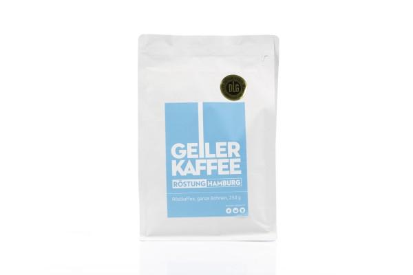 GEILER KAFFEE Röstung Hamburg 250g Bohnen